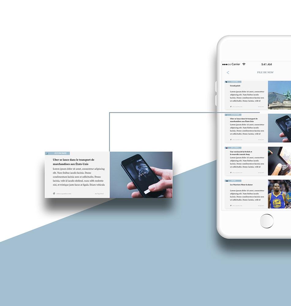 Mobile ui Interface